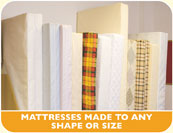Mattresses made to any size or shape